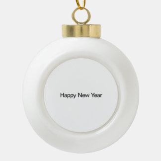 Feliz Año Nuevo Adornos