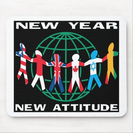 Feliz Año Nuevo Alfombrilla De Ratones