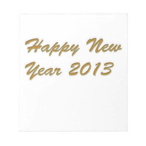Feliz Año Nuevo Blocs De Notas