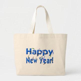 Feliz Año Nuevo Bolsa De Mano