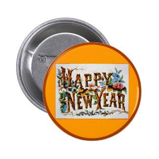 ¡Feliz Año Nuevo! - Botón #2 Pin Redondo De 2 Pulgadas