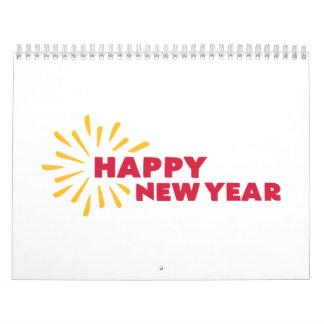 Feliz Año Nuevo Calendario