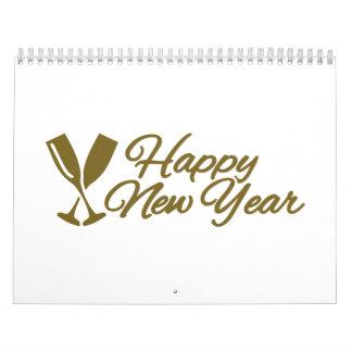 Feliz Año Nuevo Calendarios De Pared