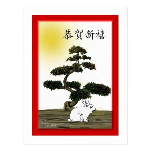 Feliz Año Nuevo/chino Postales