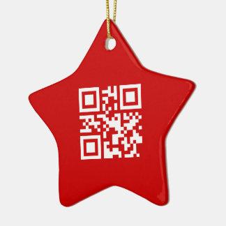 ¡Feliz Año Nuevo! -- Código de QR Adorno De Reyes