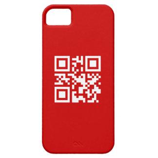 ¡Feliz Año Nuevo! -- Código de QR iPhone 5 Fundas