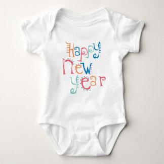 Feliz Año Nuevo colorida Camisas