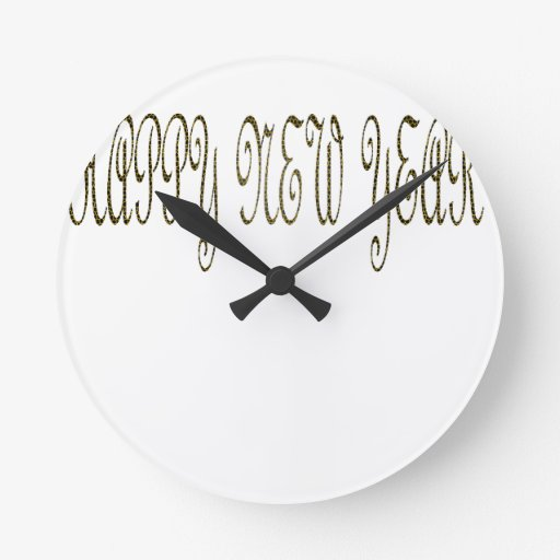 Feliz Año Nuevo con la serpiente del adorno Relojes