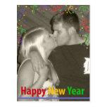 Feliz Año Nuevo - confeti Postales