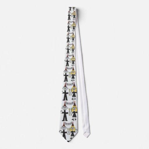 Feliz Año Nuevo Corbatas