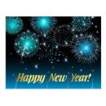 Feliz Año Nuevo de la postal