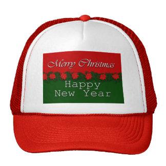 Feliz Año Nuevo de las Felices Navidad Gorras De Camionero