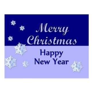 Feliz Año Nuevo de las Felices Navidad Postales