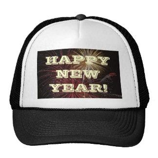 Feliz Año Nuevo del gorra