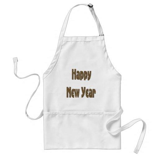 Feliz Año Nuevo Delantal