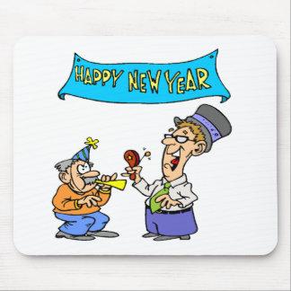 Feliz Año Nuevo divertida Alfombrilla De Raton
