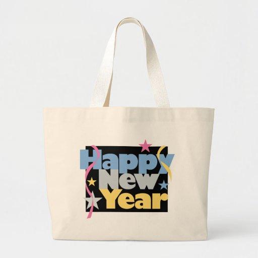 Feliz Año Nuevo elegante Bolsas