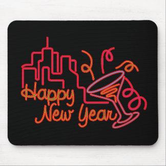 Feliz Año Nuevo en la ciudad Tapete De Ratones