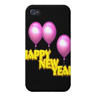 Feliz Año Nuevo iPhone 4 Carcasa