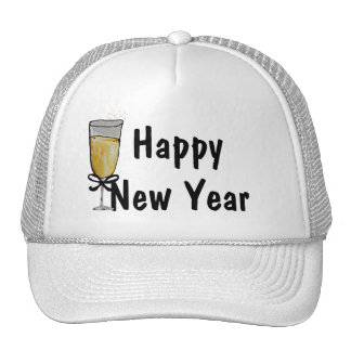 Feliz Año Nuevo Gorras