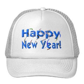 Feliz Año Nuevo Gorras De Camionero