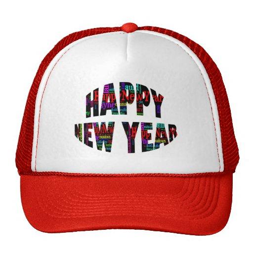 ¡Feliz Año Nuevo! Gorros