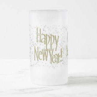 ¡FELIZ AÑO NUEVO! Imagen del texto Taza