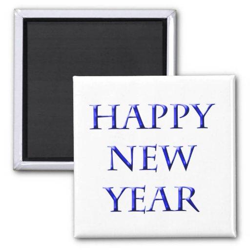 Feliz Año Nuevo Iman Para Frigorífico