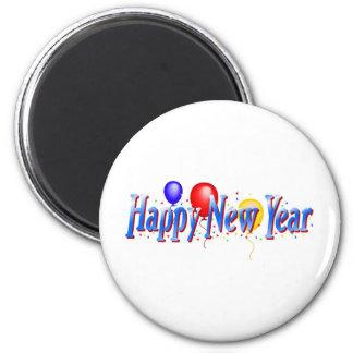 ¡Feliz Año Nuevo! Imán Redondo 5 Cm