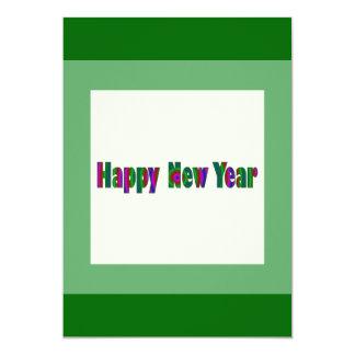 """Feliz Año Nuevo Invitación 5"""" X 7"""""""