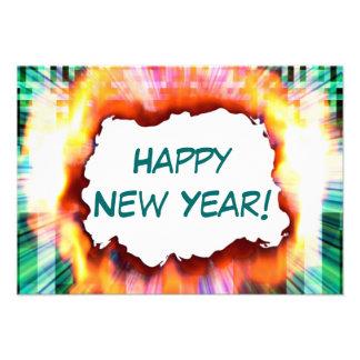 ¡Feliz Año Nuevo Invitación del fiesta