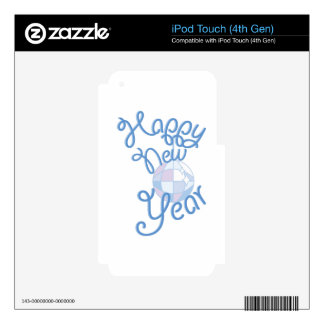 Feliz Año Nuevo iPod Touch 4G Skin