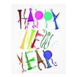 Feliz Año Nuevo Membrete