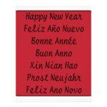 ** Feliz Año Nuevo ** Membrete Personalizado
