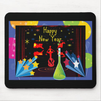 Feliz Año Nuevo Mouse Pads