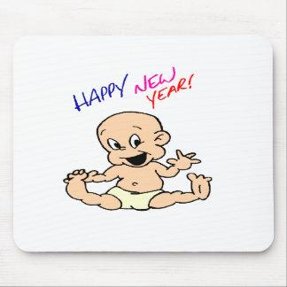 Feliz Año Nuevo Mousepad Alfombrilla De Ratones
