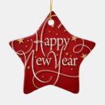 Feliz Año Nuevo Ornamentos Para Reyes Magos