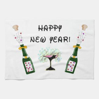 Feliz Año Nuevo Toalla De Cocina