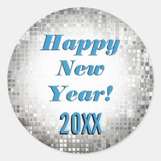 ¡Feliz Año Nuevo Pegatinas frescos el chispear