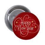 Feliz Año Nuevo Pins