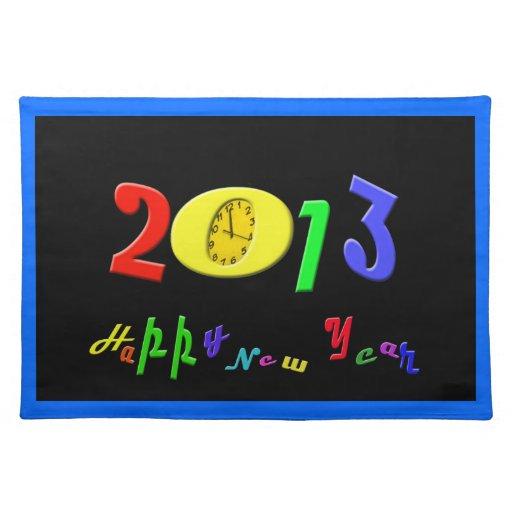 Feliz Año Nuevo Placemats Mantel Individual