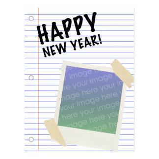 ¡Feliz Año Nuevo! POLAROID Postales