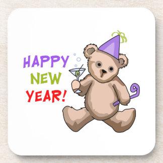 ¡Feliz Año Nuevo! Posavasos De Bebidas