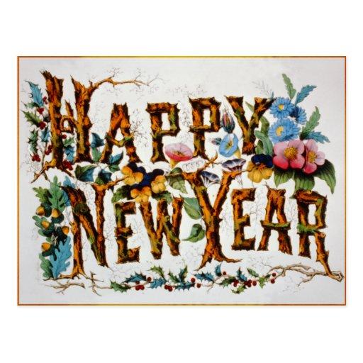 ¡Feliz Año Nuevo! - Postal