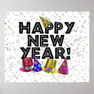 ¡FELIZ AÑO NUEVO! PÓSTER