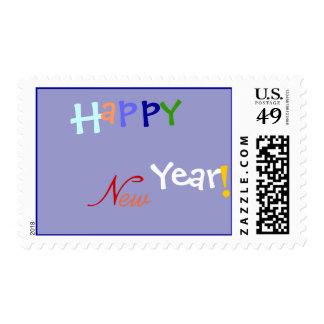 ¡Feliz Año Nuevo! Sello festivo