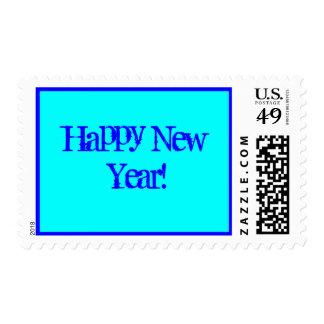 ¡Feliz Año Nuevo! Sellos Postales