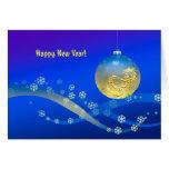 ¡Feliz Año Nuevo! Tarjeta