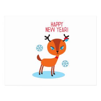 ¡Feliz Año Nuevo! Tarjeta Postal
