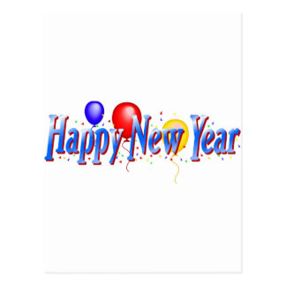 ¡Feliz Año Nuevo Tarjeta Postal
